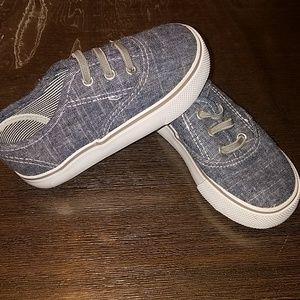 Toddler Boys slip on jean shoes